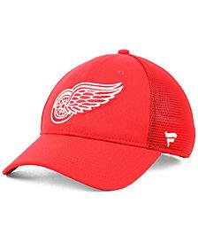 Fanatics Detroit Red Wings Elevated Core Trucker Snapback Cap