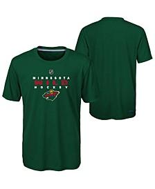 Minnesota Wild Avalanche T-Shirt, Big Boys (8-20)