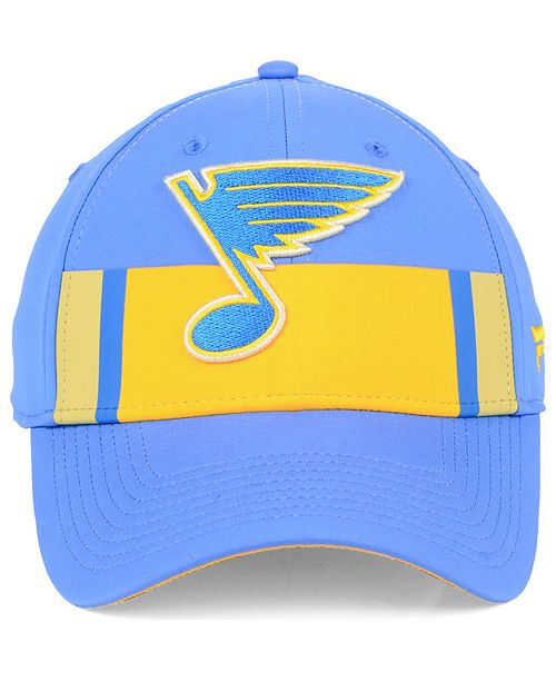 0a585eb75ef720 ... Authentic NHL Headwear Fanatics St. Louis Blues Alternate Jersey Speed  Flex Stretch Fitted Cap ...