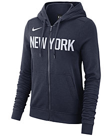 Nike Women's New York Knicks City Edition Full-Zip Hoodie