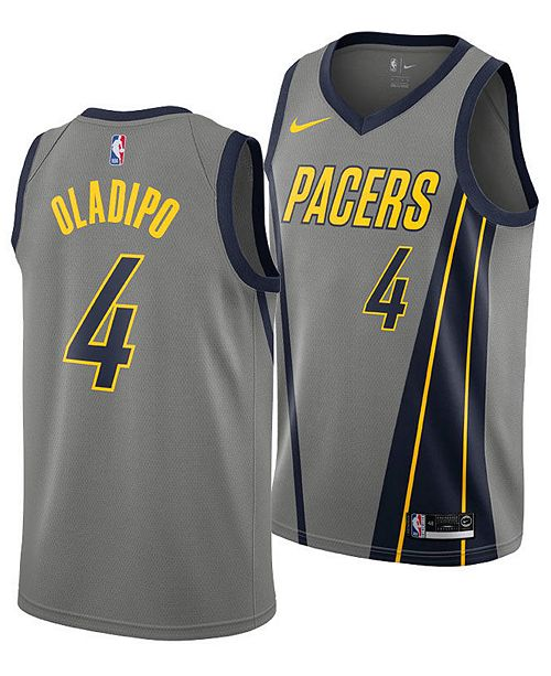 official photos 3fdd7 775f4 Men's Victor Oladipo Indiana Pacers City Swingman Jersey 2018