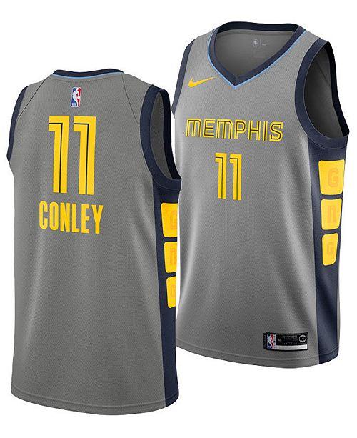 18efa41a0 ... Jersey 2018  Nike Men s Mike Conley Jr. Memphis Grizzlies City Swingman  Jersey ...