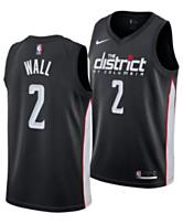 69e137e7c95 Nike Men s John Wall Washington Wizards City Swingman Jersey 2018