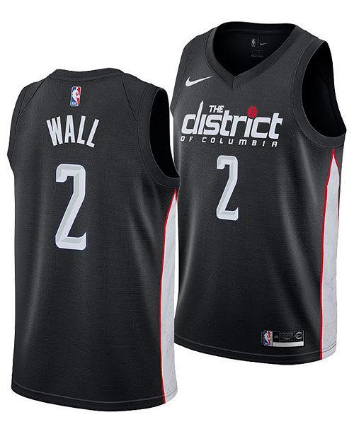 Nike Men's John Wall Washington Wizards City Swingman Jersey 2018