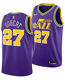 Nike Men's Rudy Gobert Utah Jazz Hardwood Classic Swingman Jersey