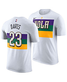 Nike Men's Anthony Davis New Orleans Pelicans City Player T-Shirt 2018
