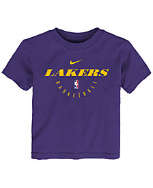 Nike Los Angeles Lakers Elite Practice T-Shirt 2018, Little Boys (4-7)