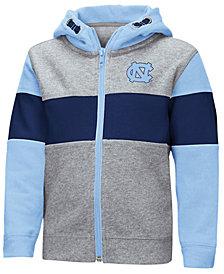 Colosseum North Carolina Tar Heels Colorblocked Full-Zip Sweatshirt, Toddler Boys (2T-4T)