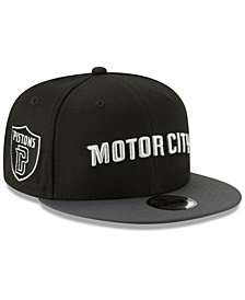 New Era Boys' Detroit Pistons City Series 2.0 9FIFTY Snapback Cap