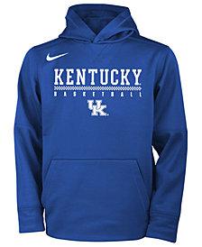 Nike Kentucky Wildcats Therma Hooded Sweatshirt, Big Boys (8-20)