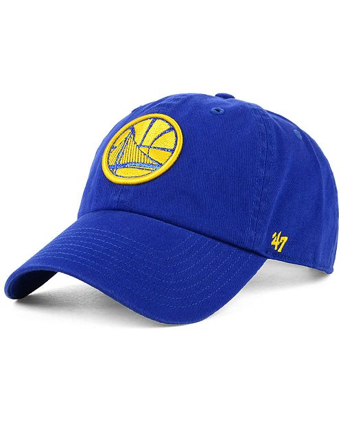 237b4a4e8fd 47 Brand Women s Golden State Warriors Glitta CLEAN UP Cap - Sports ...