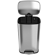 30 L / 8 Gal Premium Stainless Steel Step Trash Can