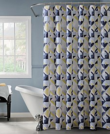 Geometric Design Shower Curtain