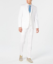 Men's Slim-Fit White Suit Separates, Created for Macy's