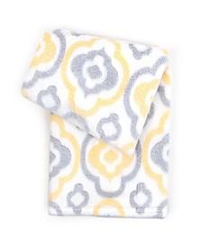 Tadpoles Printed Plush Baby Blanket