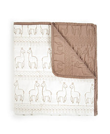 Baby Quilted Blanket Llama