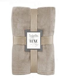 Tadpoles Luxe Plush Baby Blanket