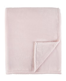 Sleeping Partners Luxe Solid Plush Blanket