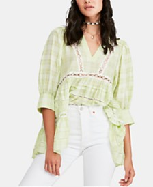 Free People Time Out Cotton Tunic