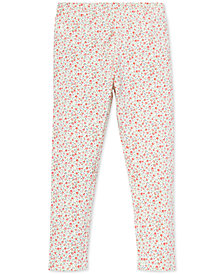 Polo Ralph Lauren Toddler Girls Floral-Print Leggings