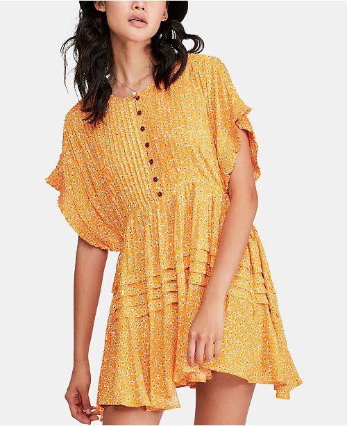 fd4a468a24b Free People One Fine Day Floral-Print Mini Dress   Reviews - Dresses ...