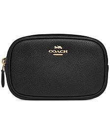COACH Polished Pebble Belt Bag