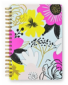 Large Floral Spiral Notebook