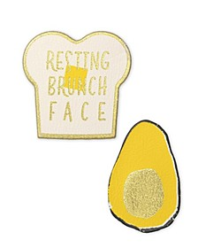 Vegan Leather Brunch Patch Set