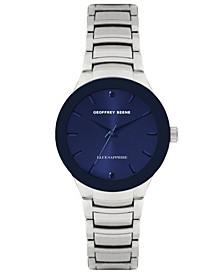 Genuine Blue Sapphire Dial Bracelet Watch