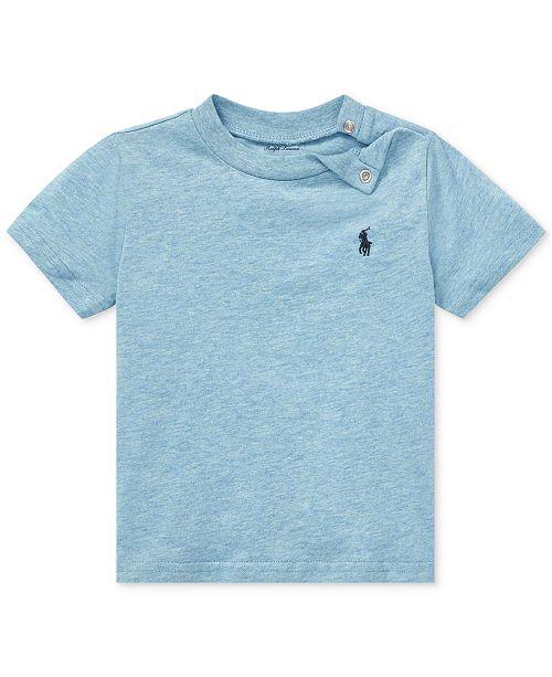 8821f7701 Polo Ralph Lauren Baby Boys Cotton T-Shirt & Reviews - Shirts ...