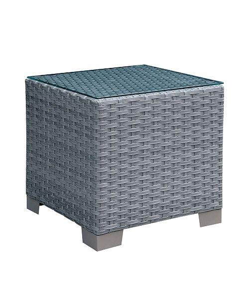 Furniture of America Condor Modern Patio End Table