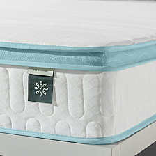 "Zinus Mint Green 8"" Hybrid Spring Mattress- Firm Support Delivered in a Box, Twin"