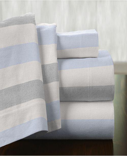 Pointehaven Superior Weight Cotton Flannel Sheet Set - Queen