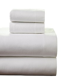 Superior Weight Cotton Flannel Sheet Set - Queen