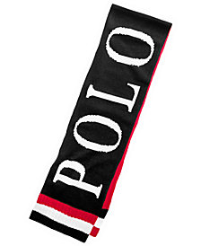 Polo Ralph Lauren Men's 1992 P-Wing Colorblocked Scarf