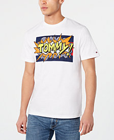 Tommy Hilfiger Men's Graphic Logo T-Shirt, Created for Macy's