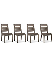 Closeout! Sava Dining 4-Pc. Set (4 Side Chairs), Created for Macy's