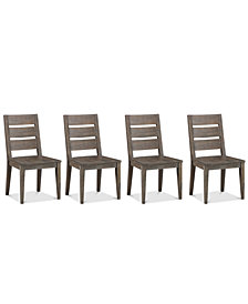 Sava Dining Furniture, 4-Pc. Set (4 Side Chairs), Created for Macy's