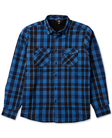 Volcom Men's Ferdinand Plaid Shirt Jacket