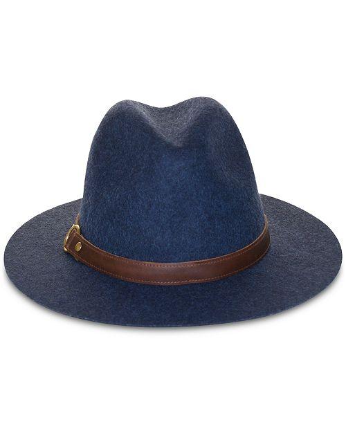 Frye Wool Felt Harness Panama Hat
