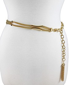 Accessories Mesh Casted X Station Chain Belt