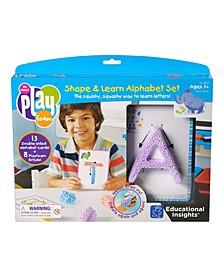 Educational Insights Playfoam Shape and Learn Alpahbet Set