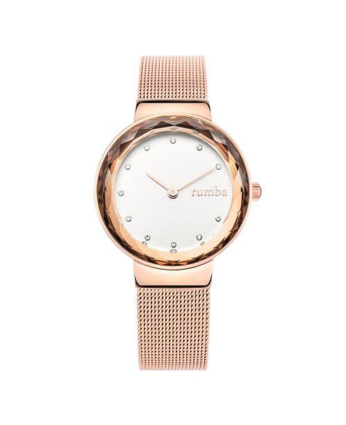 RUMBATIME Santa Monica Rose Gold Mesh Women's Watch