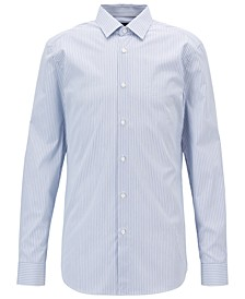BOSS Men's Slim Fit Cotton Poplin Shirt