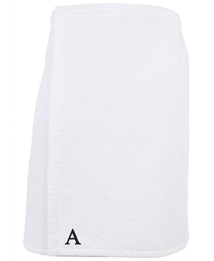 Linum Home - 100% Turkish Cotton Terry Personalized Men's Bath Wrap