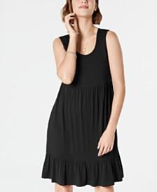 Style & Co Petite Sleeveless Babydoll Dress, Created for Macy's