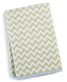 Martha Stewart Collection Chevron Spa Bath Towel, Created for Macy's