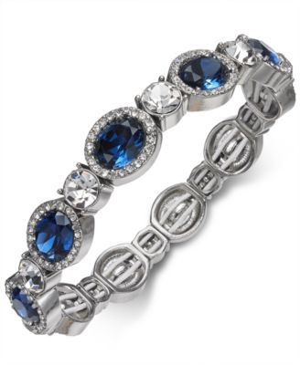 Image of Charter Club Crystal Stretch Bracelet, Created for Macy's