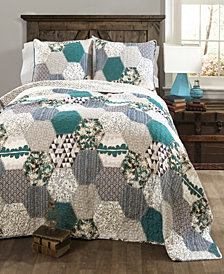 Briley 3-Pc Set Full/Queen Quilt Set