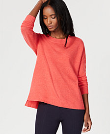 Charter Club Cashmere Crew-Neck Sweater, Created for Macy's